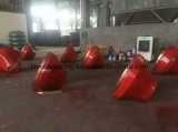 Metso Manganese Casting Concave e Mantle Cone Crusher Parte
