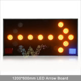 Strecke Safety 100mm LED Lamps Truck Mounted LED Arrow Board
