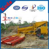 Hohes Effciency bewegliches Seifenerz-Goldförderung-Gerät mit Patenten (KDTJ-50)