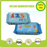 Berufsfabrik-organischer Haut-Sorgfalt-Baby-Wischer für Mund und Hand