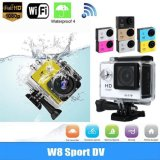 WiFiのExtreme Diving 30m Waterproof Helmet Camの処置Cam1080p Full HD Sport Camera