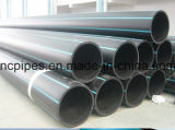 Pipas del abastecimiento de agua del PE del HDPE, tubos de alimentación PE100, tubo del PE