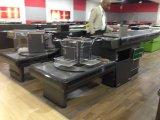 Supermarkt-Prüfungs-Standplatz mit Förderband