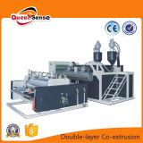 Máquina de la película del abrigo del estiramiento de la coextrusión de la capa doble