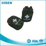 Kit de primeros auxilios médico de la escritura de la etiqueta privada del kit de primeros auxilios del bolso de kit de los primeros auxilios del ejército
