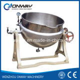 Kqg Industrial Jacket Kettle Electric Steam Jacket Kettle Electric Jacketed Kettle