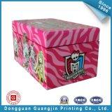 Het Vakje van de Verpakking van het Stuk speelgoed van het Document van de Kleurendruk (gJ-Box125)