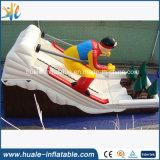 Heißer verkaufenspaß, der aufblasbares Skifahren-Plättchen für Kinder bekanntmacht