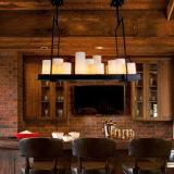 Nice American Style Hotel Vintage LED Pendant Chandelier Light Lamp para restaurante ou sala de estar