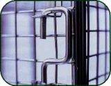 Farbige Maschendraht-Speicher-Schließfächer für BRITISCHEN Markt