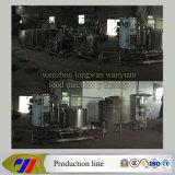 linha de processamento fresca linha do leite 500L/H de produção