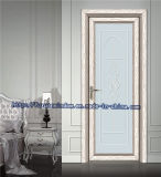 Puder-überzogene weiße Aluminiumschwingen-Tür