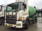 Japan Used 2010 6*4-LHD-Drive 6~8cbm 80%~90%-New-Tires Hino700 Concrete Mixer Truck