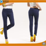 Pantalones coloridos de las polainas del algodón del estiramiento de Jeggings del verano de las mujeres