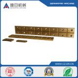 A carcaça da precisão parte a carcaça do cobre de placa de cobre para a peça da máquina
