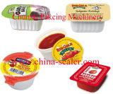 Enchimento do copo da manteiga de amendoim e máquina da selagem (BG60A-4C)