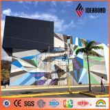 2014 revêtement moderne matériel de mur extérieur de la mode PVDF de décoration neuve