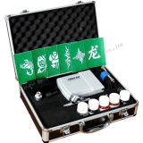 아름다움 임시 귀영나팔 HS08AC Ka를 위한 에어브러시를 위한 소형 압축기