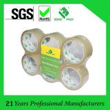 Las muestras gratuitas Claro OPP cinta de embalaje de la máquina de envasado en cartón Uso