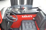 Mimaは8000mmの上昇の高さの範囲のフォークリフトをつけた