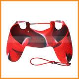 Cool camuflaje piel de funda de silicona suave para Playstation 4 Dualshock 4 controlador
