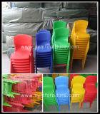 Kind-stapelbare Plastikstühle, bunte stapelbare Plastikstühle für Kindergarten-Möbel