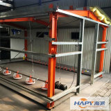 Estructura de acero modificada para requisitos particulares en casa de la avicultura con diseño y después del servicio