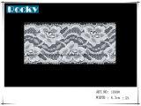 결혼식 부속품 폭 17.5cm를 위한 꽃 패턴 의복 손질 레이스