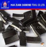 Saleのための屋根Type Stone Diamond Drilling Bit Segments