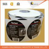 Etiqueta engomada transparente auta-adhesivo impresa del animal doméstico del papel de servicio de impresión de la escritura de la etiqueta