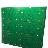 Fr4 PCB Circuit met Gold Plating IC Test Board