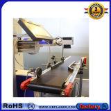 стальная медная алюминиевая машина отметки маркировки лазера волокна мухы цинка утюга 30With50W