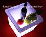 Acrylic quadrato LED Ice Bucket per Wine, Beer e Champagne