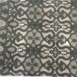 Bello cotone del fiore di nuovo disegno/tessuto di nylon del merletto (WH7259-YC)