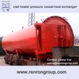Dn50-6000圧力容器タンクU字型チューブの熱交換器デザインE-01