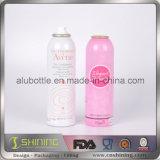 Упаковывая алюминиевая косметическая пустая бутылка аэрозоля