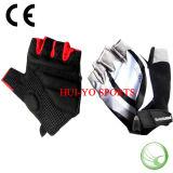 半分指の手袋、体操の手袋、低価格のバイクの手袋
