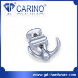 Ganchos para móveis de metal Gancho de liga de zinco para série gancho de roupas (GDC5001)