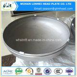Qualitäts-bedeckt rundes Aluminiumrohrende Gefäß-Endstöpsel mit einer Kappe