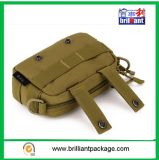 Toile Army Green Military Shoulder Bag