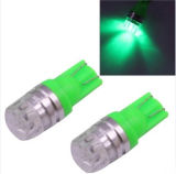 T10 1.5W 60lm 1 LED Green COB LED Brake Light für Vehicles, DC12V, Pack von 2 (Green), Instrument Lights