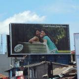 Samllのサイズの屋外広告の移行のTrivision掲示板