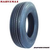 Diseño chino de la fábrica del neumático del neumático de la alta calidad del neumático del acoplado del omnibus del carro de la marca de fábrica de Superhawk Marvemax para la sobrecarga