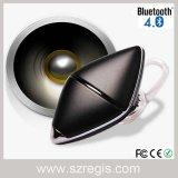 Auscultadores sem fio do fone de ouvido dos auriculares de Bluetooth 4.0 da mini música estereofónica