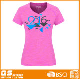 Melange van vrouwen de T-shirt van de Manier