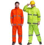 Workwear riflettente, unità di elaborazione 100% ricoperta, codice categoria 3 del poliestere di 300d Oxford dell'en