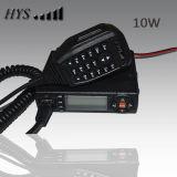 Tc-M10W Newest 10W Mini VHF+UHF Dual Band Mobile Zwei-Methode Radio Hys