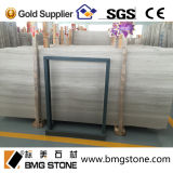 중국 White Wooden Vein Marble Tiles, Paving Marble Slabs, Flooring를 위한 Natural Stone Walling Marble Tile