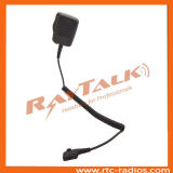 Microphone tenu dans la main de PTTs pour Eads Thr9I
