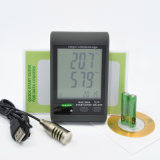 GSM-21e SMS Alarm Temperature Humidity Data Logger avec écran LCD